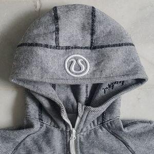 Lululemon Striped Scuba hoodie S 4